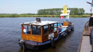 vuilwaterboot van de marrekrite